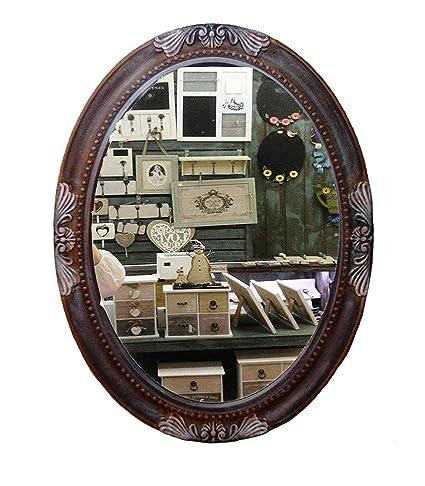 charma nter rústico 80 cm madera espejo de pared 18 - 6 ...