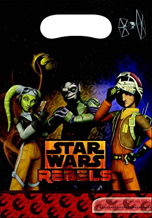 6 bolsas de fiesta Star Wars Rebels? - Única: Amazon.es ...
