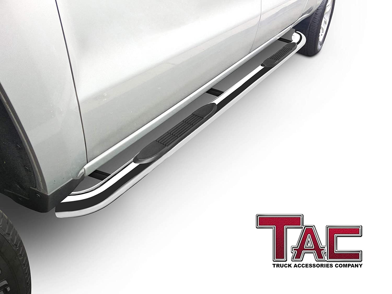 """Incl. High Altitude, High Altitude II and SRT TAC Side Steps Running Boards Fit 2011-2020 Jeep Grand Cherokee SUV 3/"""" Stainless Steel 304 Side Bars Nerf Bars Off Road Accessories 2 Pcs"""