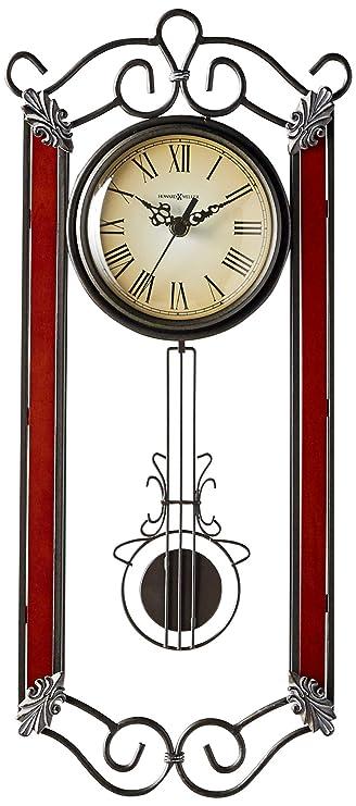 Amazon Com Howard Miller 625 326 Carmen Wall Clock Home Kitchen