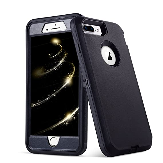 size 40 4a12f a8d91 iPhone 8 Plus Case,iPhone 7 Plus Case,5.5 inch Screen [VCOSI] Heavy Duty  Defense Shield for iPhone 8 Plus & iPhone 7 Plus (ONLY) Shock-Resistant ...