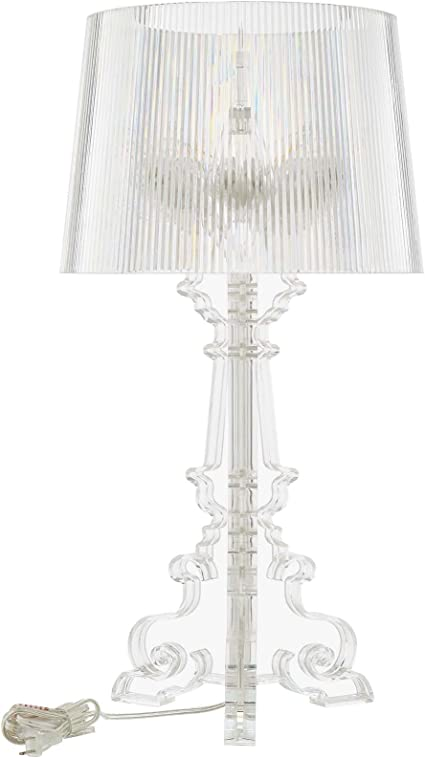 Amazon Com Modway French Grande Acrylic Table Lamp In Clear Home Improvement