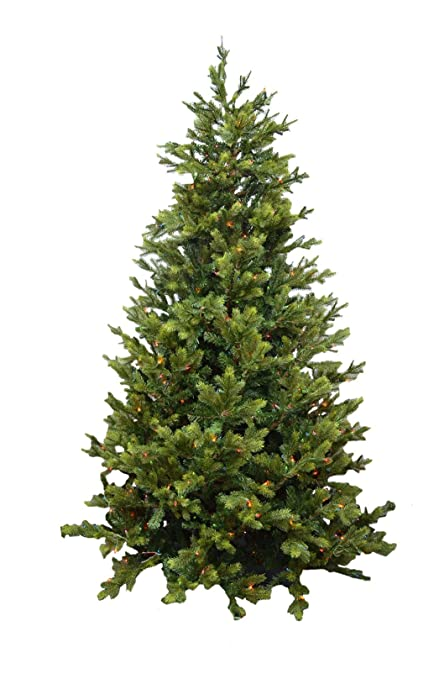 Holiday Bright Lights 7.5' Ashton Pine Artificial Christmas Tree, Unlit  (TAPP75F) - Amazon.com: Holiday Bright Lights 7.5' Ashton Pine Artificial
