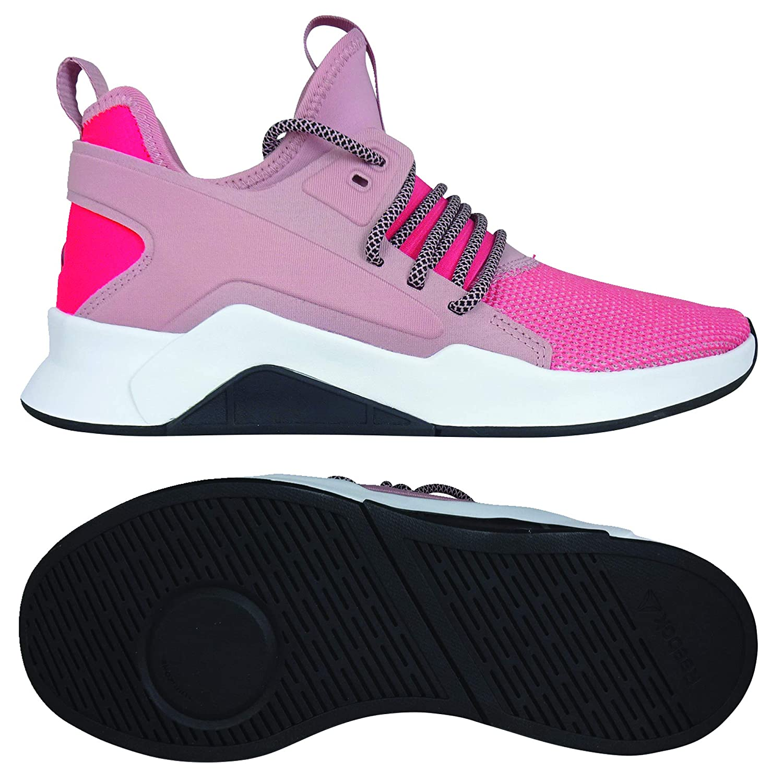 MultiCouleure (Smoky Rose Rose Neon rouge blanc noir 000) Reebok Guresu 2.0, Chaussures de Fitness Femme 36 EU