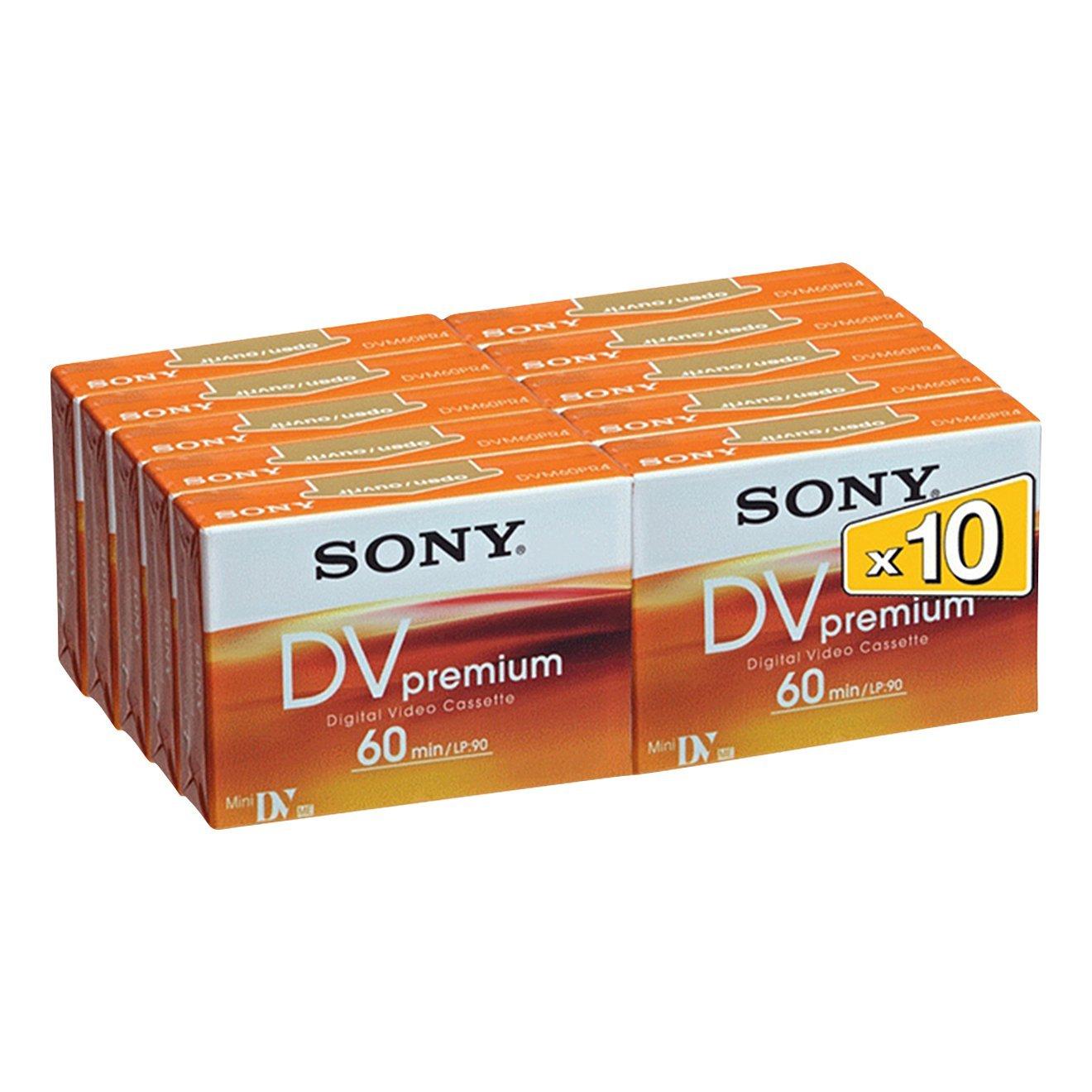 Sony DVM60 Premium Pack 10