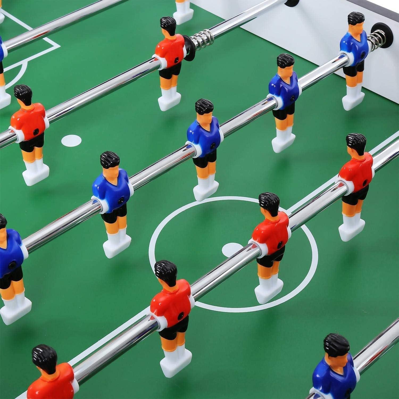 HONGHUIYU Competición de Mesa de futbolín Juego de arcada de ...