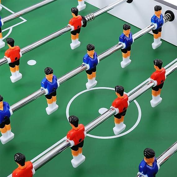 shengshiyujia Competición de Mesa de futbolín Juego de arcada de fútbol de 48 Pulgadas en casa Juego de Mesa Deportivo en Roma Niños Niños Adulto Familia: Amazon.es: Deportes y aire libre
