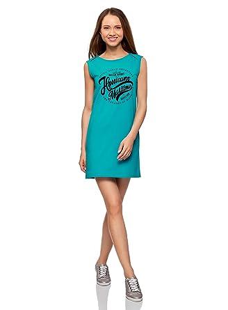 Model de robe droite en tissu