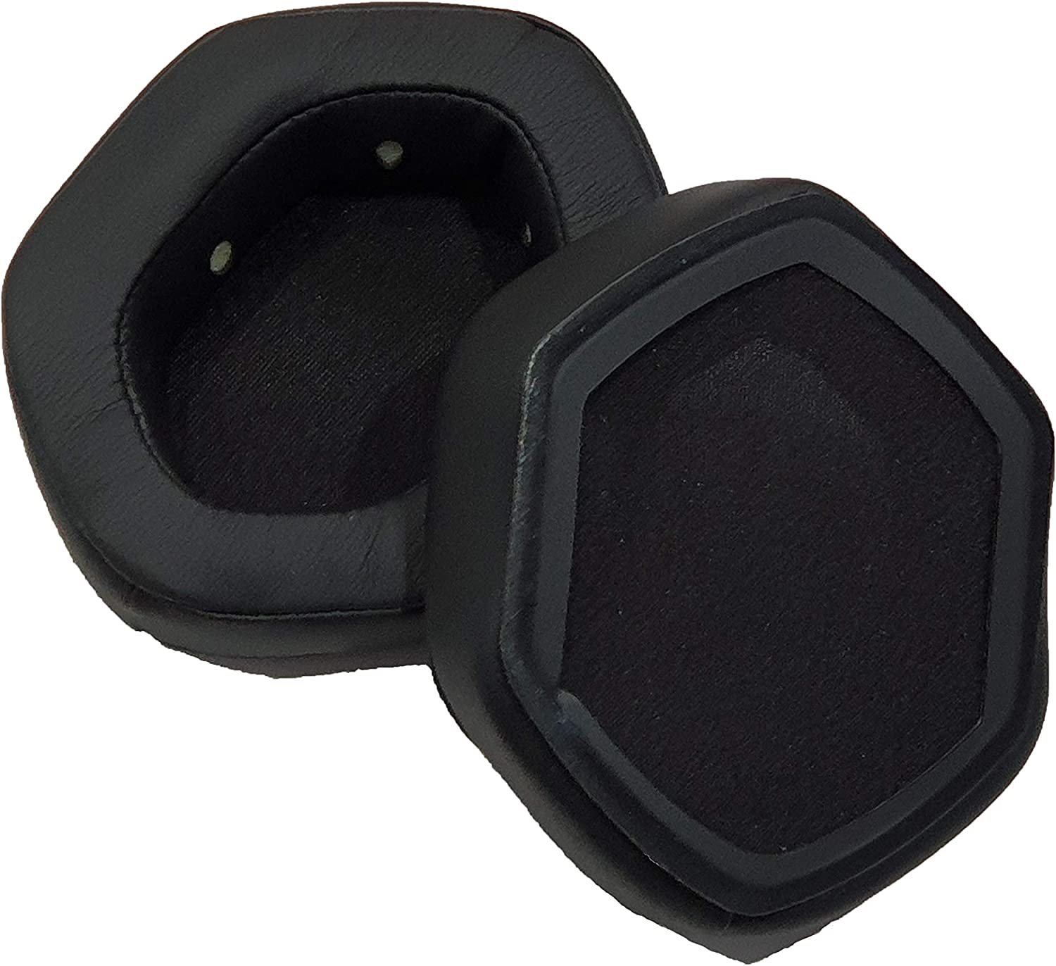 Crossfade LP2 AHG Replacement XL Ear Cushions for V-Moda Crossfade LP Black Crossfade M-100 and Crossfade Wireless 1 and 2 Headphones