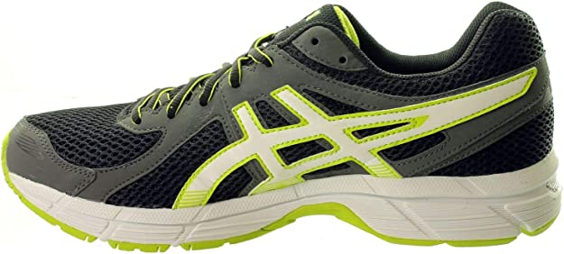 Manifiesto Corte de pelo borracho  ASICS Gel-STORMHAWK Men's Running Shoes (T41VQ-9005) (Black/White/Lime  Punch) (UK 10.5 / EU 46 / US 11.5 / cm 29.0): Amazon.co.uk: Shoes & Bags