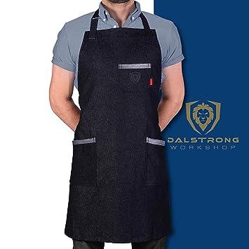 Amazon.com: Dalstrong - Delantal de cocina profesional para ...