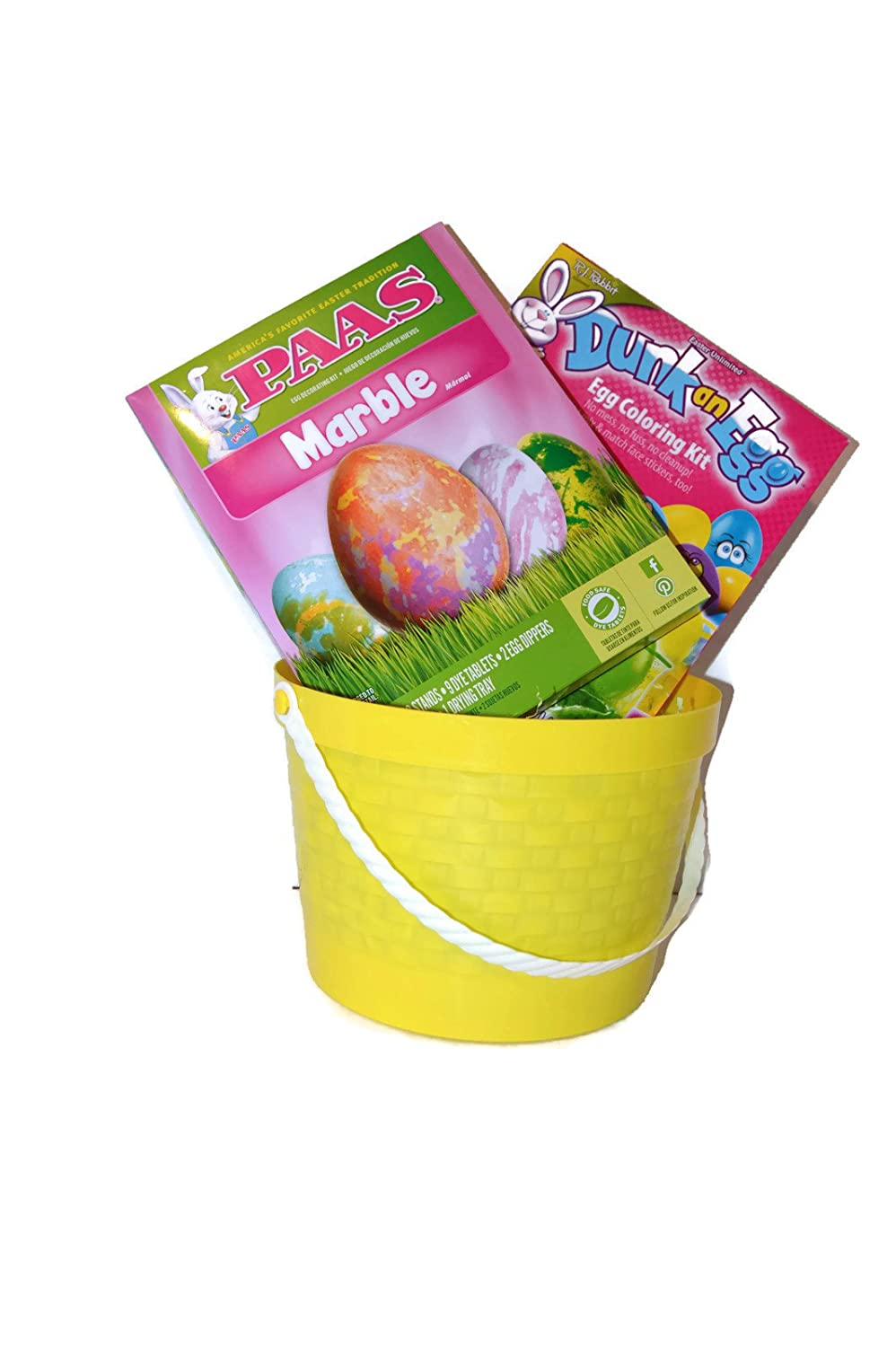 TWO 2 DUNK AN EGGS; EASTER DYE COLOR DECORATING KITS