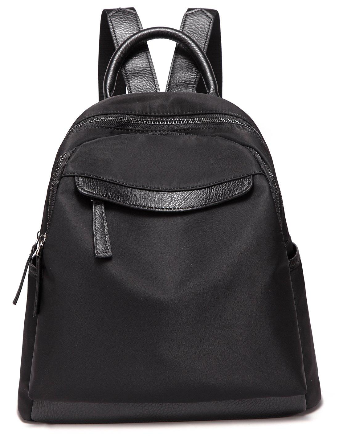 Small Fashion Backpacks for Women Daypack Waterproof Nylon Rucksack Girls School Bag