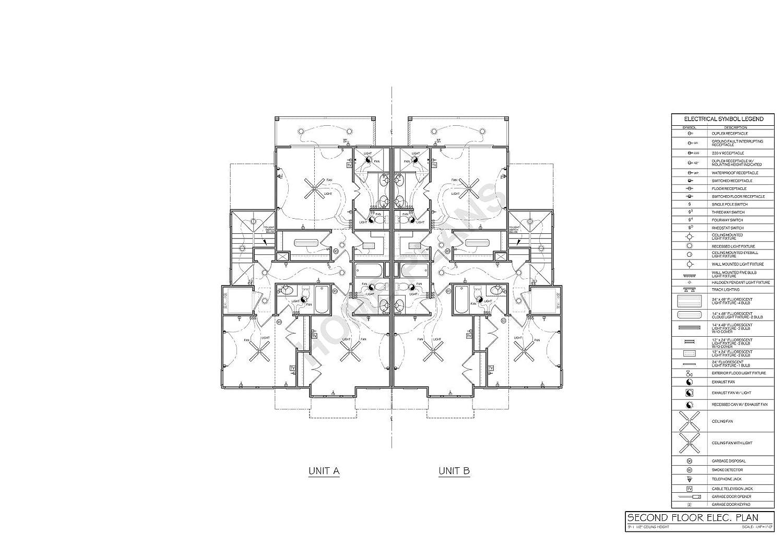 Garage Door Floor Plan Symbol
