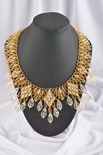 Amazon.com: Handmade Jewelry Unusual Necklace Designer ...