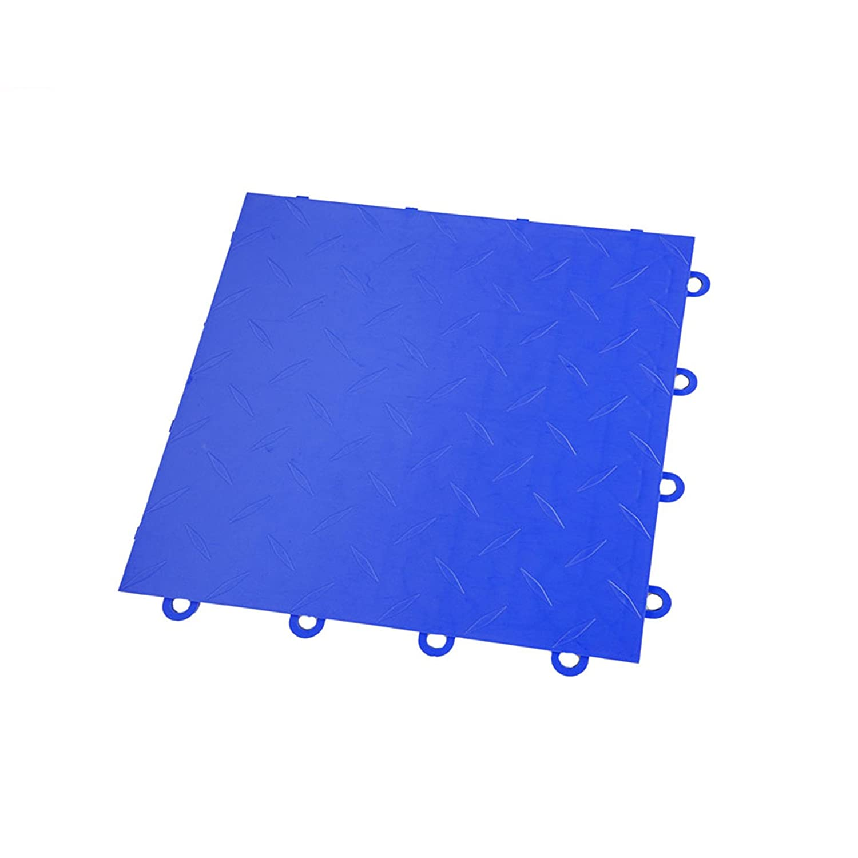 IncStores Vented Nitro Garage Tiles 12x12 Interlocking Garage Flooring Sahara Sand - 52-12x12 Tiles