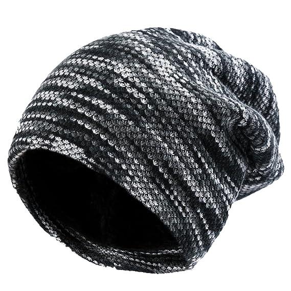 Vbiger Cappello e Sciarpa per donna Berretto in Maglia