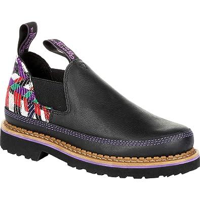 Amazon Georgia Giant Womens Black And Purple Romeo Boots