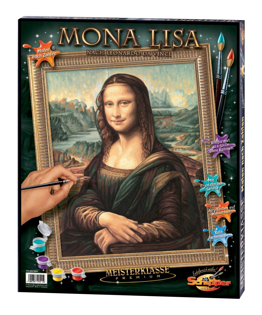 Norris Paint by#S: Mona Lisa Paint by# NOR15110