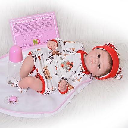 Amazon.com: Puli - Muñeca de bebé de 17.7 in con diseño de ...
