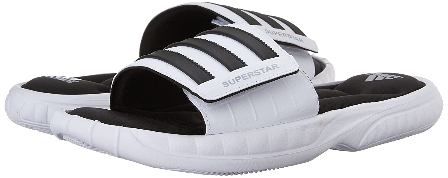 6781bcea1e86f8 Adidas Men s Superstar 3G Slide Sandals