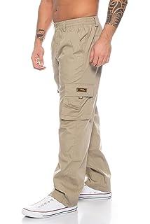 145bc006cf0d Benk Herren Cargo Hose Cargo Pants Unifarbe Arbeitshose Cargohose  Cargopants Dehnbund