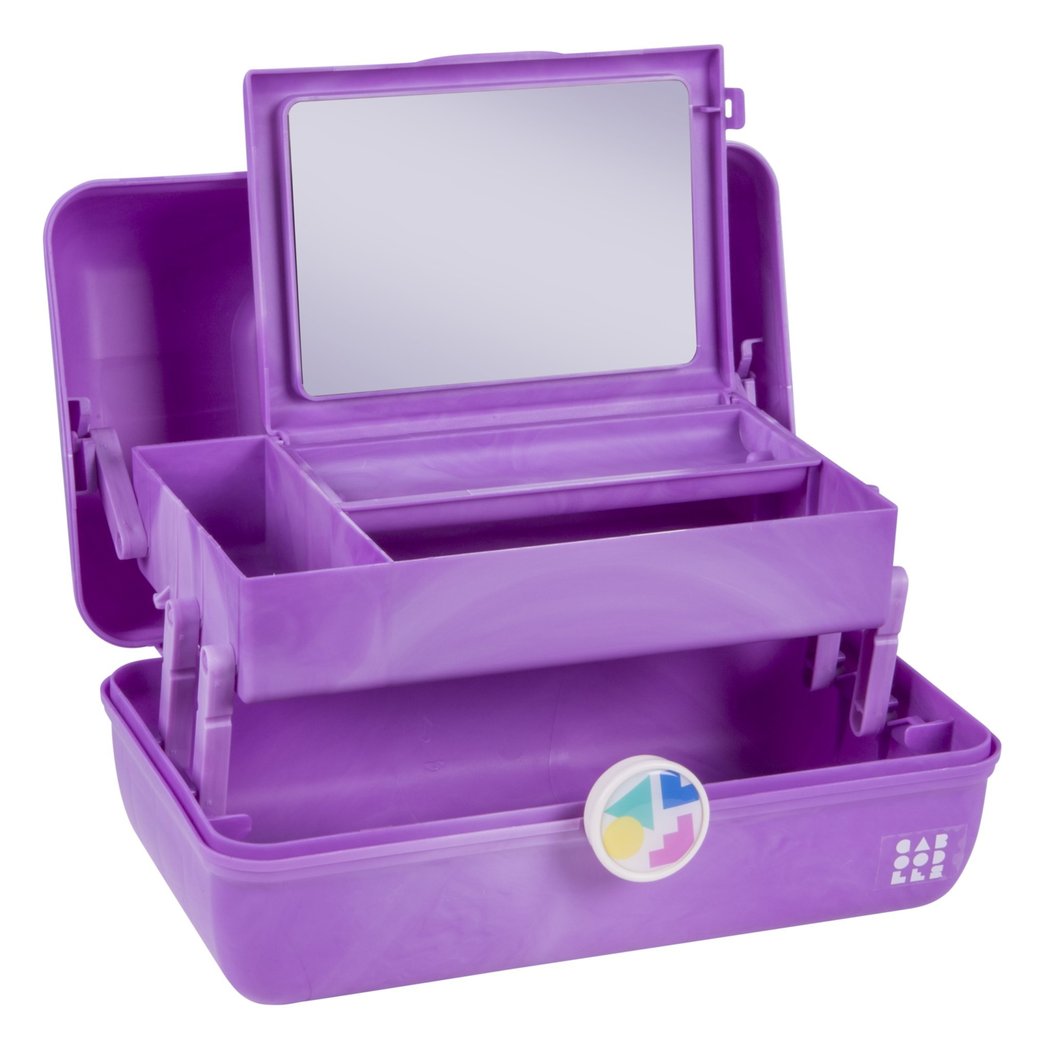 Caboodles On-the-Go Girl Purple Marble Vintage Case, 1 Pound by Caboodles (Image #2)