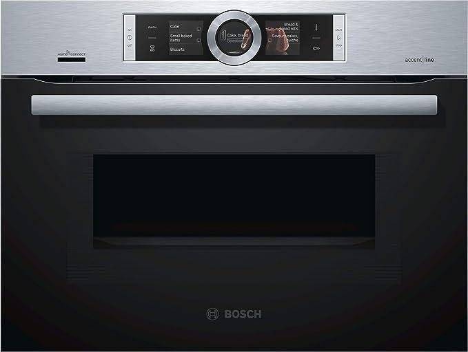 Bosch cmg856rs6 Productos aktbac Minihorno con microondas, serie 8 ...