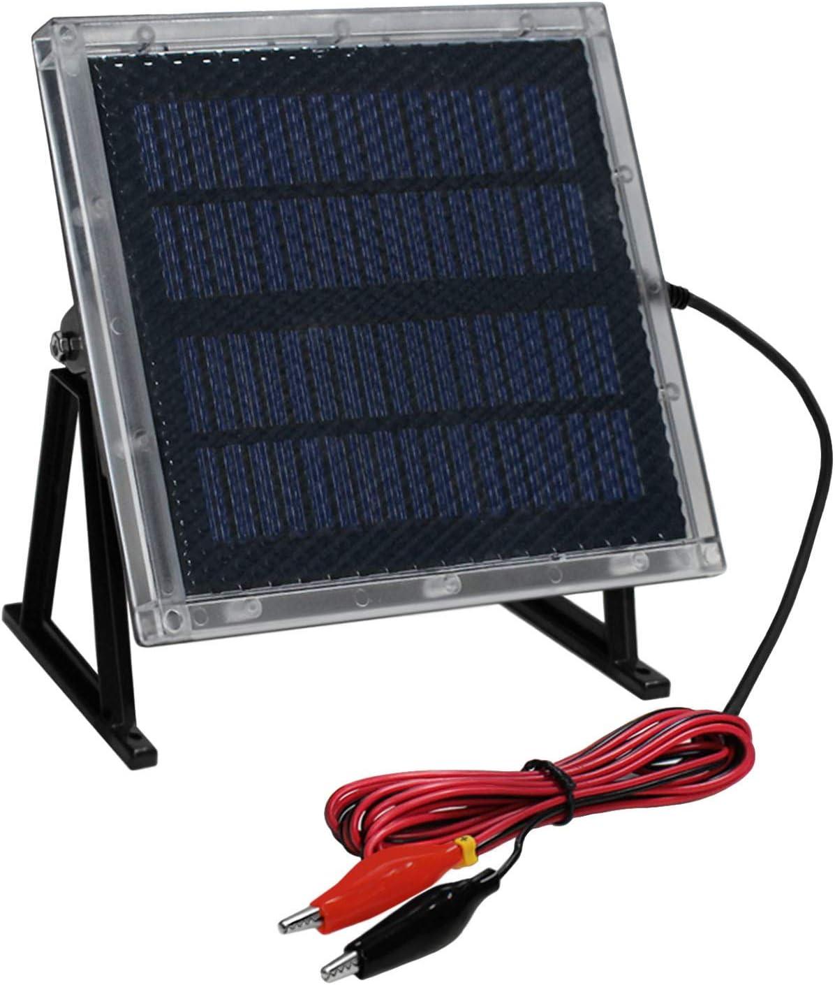 Universal Power Group 12-Volt Solar Panel Charger for 12V 7Ah APC Smart-UPS SC 1000VA Battery