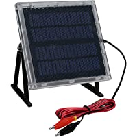 Universal Power Group 12-Volt Solar Panel Charger for 12V 8Ah Big Game Feeder Battery