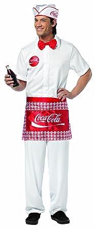 amazon com rasta imposta coca cola soda jerk white one size clothing