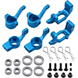Hobbypark RC 1/10 Model Car Parts Aluminum Steering Knuckle Hub Mount Upgrade 102010 102011 102012 For Redcat Volcano EPX Monster Truck Drift Buggy HSP BRONTOSAURUS