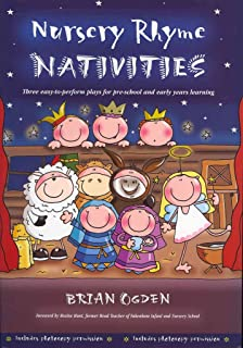 nursery rhyme nativities three easy to perform plays for pre school and