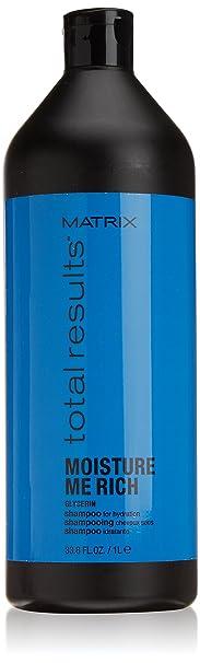 Matrix Total Results Moisture Me Rich Glycerin Shampoo, 1000 ml