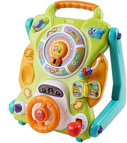 Amazon.com: ZYQZW-TOY3 en 1 - Andador para bebé, mesa de ...