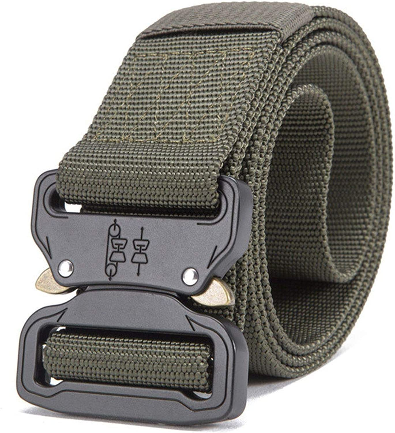 Mens Tactical Belt Military Nylon Belt Outdoor Multifunctional Training Belt Strap Ceintures