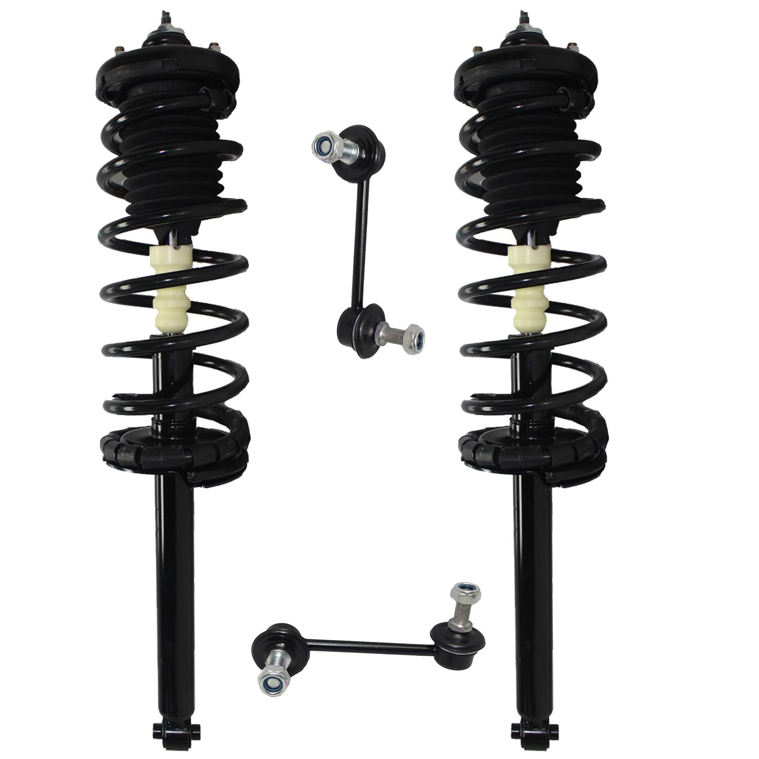 Brand New Front Driver and Passenger Side Complete Strut /& Spring Assembly for 1998-2002 Honda Accord 2 Both Front Front