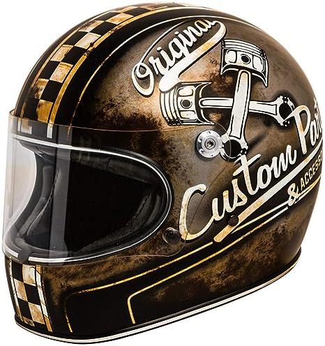 Premier Motorrad Helm Trophy Helm Op 9 Bm Black-L