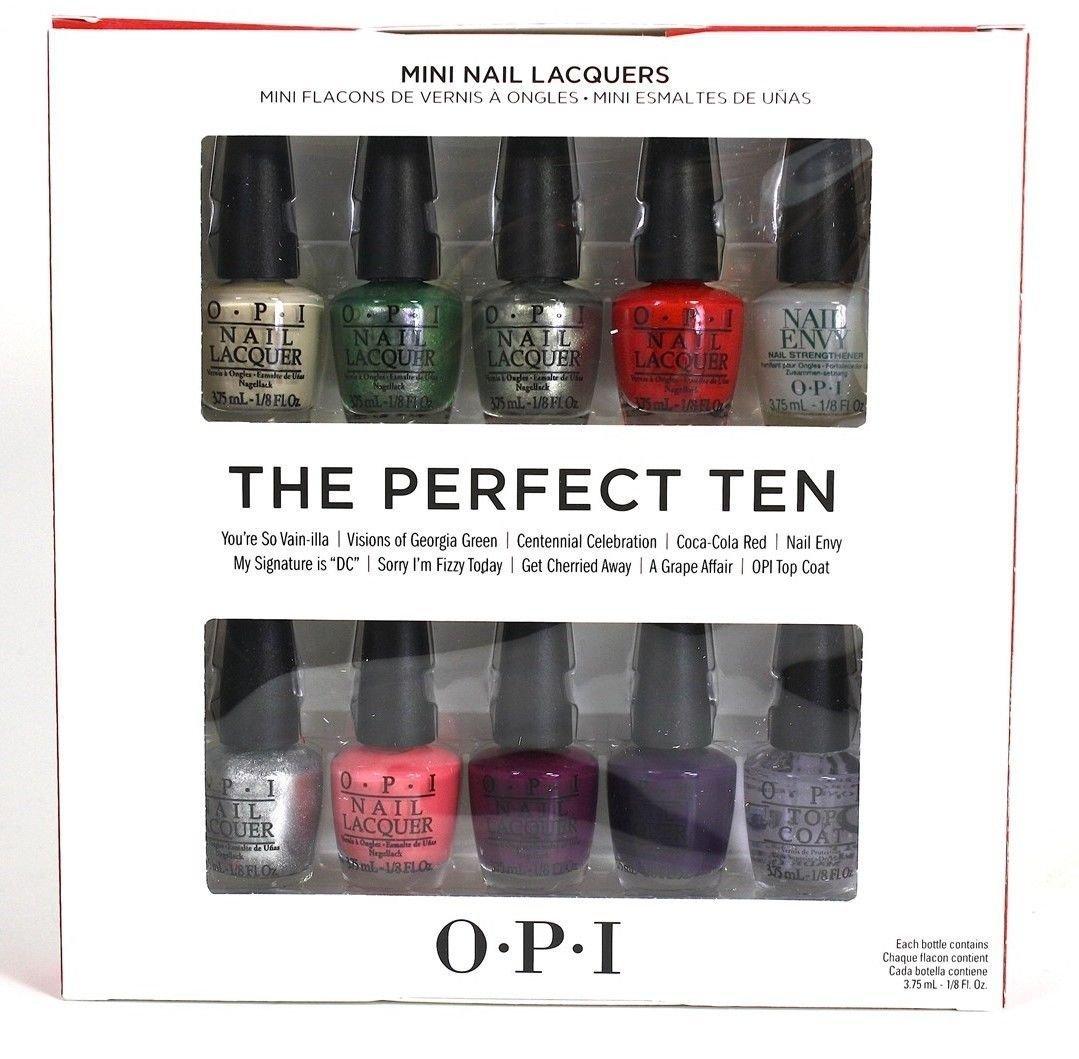 OPI Nail Polish Mini Kit - THE PERFECT TEN: Amazon.es: Electrónica