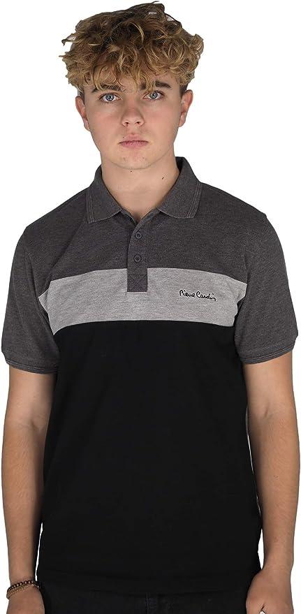 Pierre Cardin Paisley Polo Shirt Homme Gents Classic Fit Tee Top à manches courtes