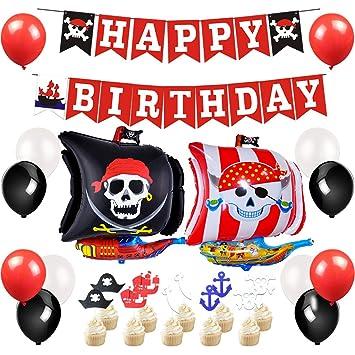 JOYMEMO Artículos para Fiestas Piratas - Decoraciones para ...