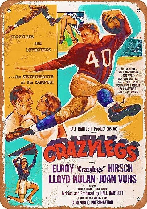 HiSign Football Movie Retro Cartel de Chapa Coffee Póster ...