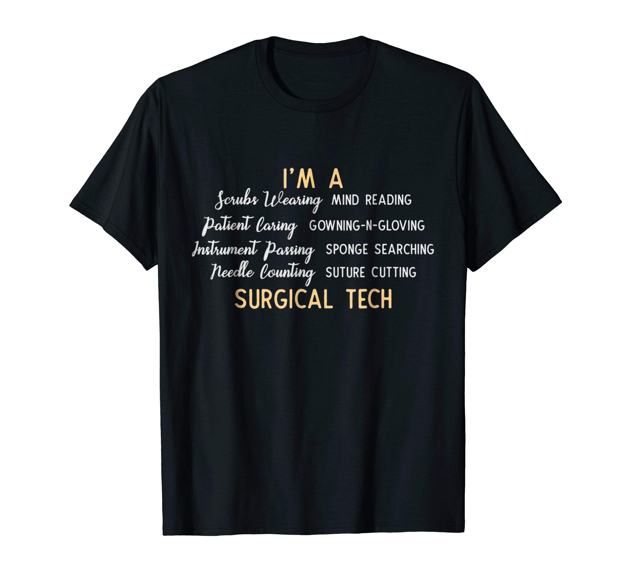 Funny Gift For Surgical Techs Shirt Scrubs Wearing by Cool Medical Shirts
