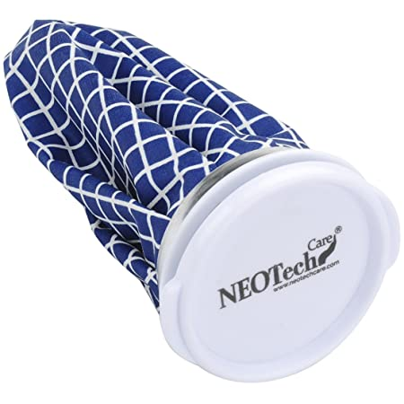 Amazon.com: Neotech Care Ice Bag for Injuries, Swelling, Headache, Pain Relief, First Aid - Cold Pack Screw Top Lid - Reusable, Refillable, ...