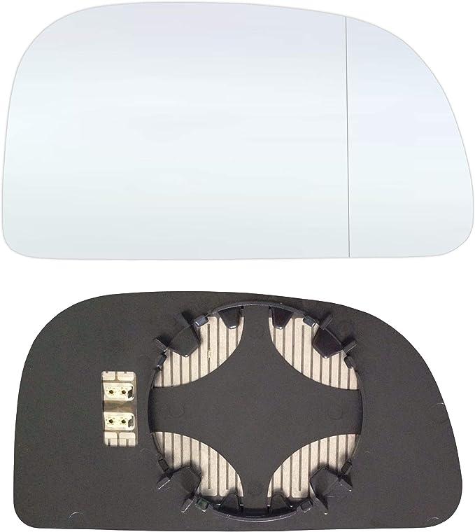 Rechts Beifahrerseite Asph/ärish Spiegelglas mit Platte und Heizung #AM-VNPT10-RWAH