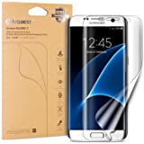 Arbalest® 4ª Generación Samsung Galaxy S7 Edge Protector de Pantalla,[Easy Installation] Extreme Clear 3D a Pantalla Completa Alta definición Transparente Protectores de Pantalla de Película, 2-Pack [No Cristal Templado]