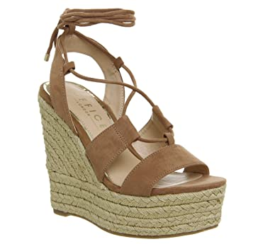 ea46a062b73 Office Hula Hula Ghillie Espadrille Wedges  Amazon.co.uk  Shoes   Bags