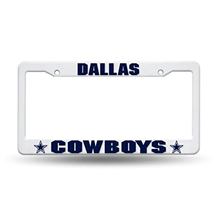 Amazon.com : Rico Industries NFL Dallas Cowboys Plastic License ...