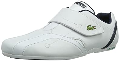 36b1a562c Lacoste Men s Protect CRT Trainers White Size  6.5  Amazon.co.uk ...