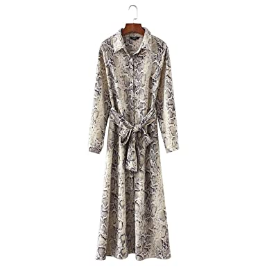 Leopard Ankle Length Dress